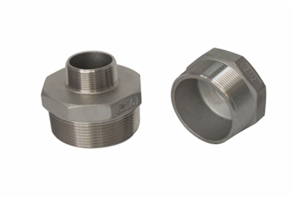 Stainless steel reducer hexagonal wire connector