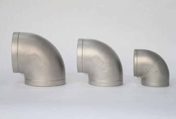 Stainless steel 90 ° elbow