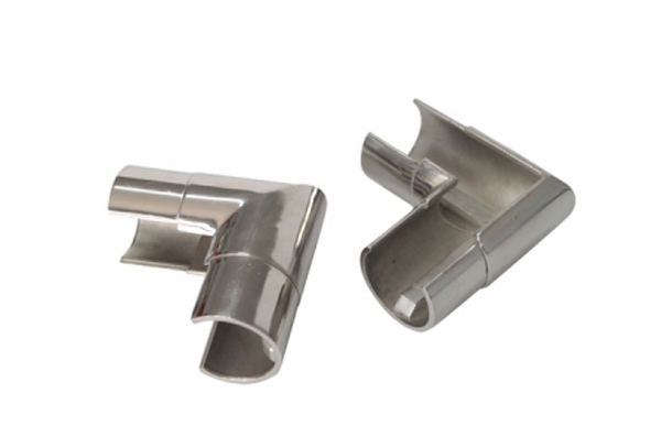 Stainless steel polished welded elbow 90D