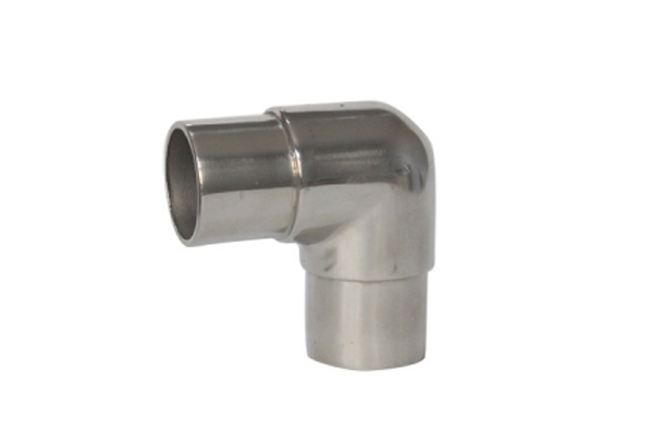 Stainless steel polished welded elbow
