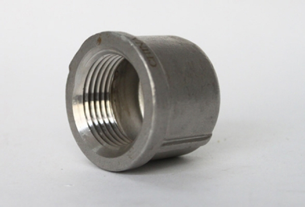 Stainless steel SP-114 tube cap