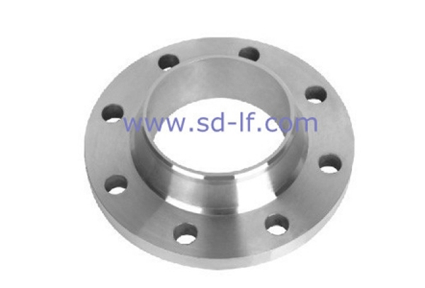 Stainless steel welded high neck flange