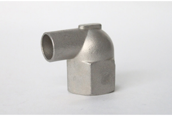 Stainless steel 90 ° welding elbow